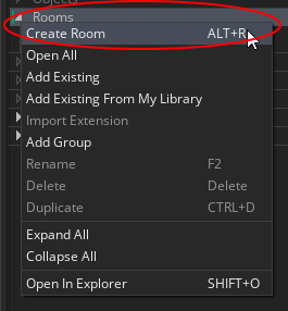 Creating a Room with GameMaker Studio