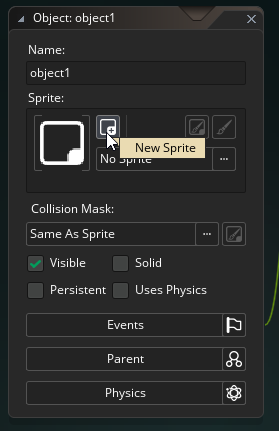 Creating a Sprite from an Object in GameMaker Studio